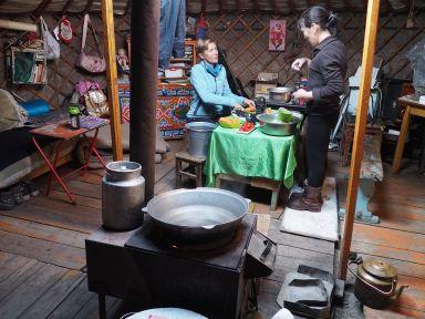 Cours de cuisine mongole