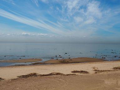 Nous retrouvons la mer (Baltique) que nous n'avions pas revue depuis la mer de Chine Orientale