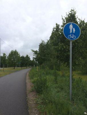 Vive les pistes cyclables!