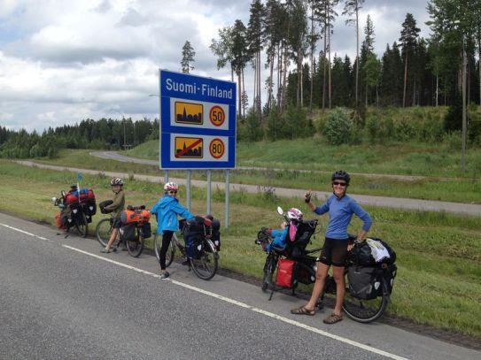 Arrivée en Finlande, retour chez nous dans l'UE