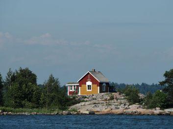 Traversée vers l'île de Suomenlinna