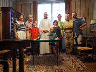 Célébration du 15 août avec Pierre, Françoise, Catherine et Jean