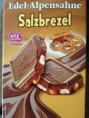 Le chocolat ...aux bretzels: Sehr gut !
