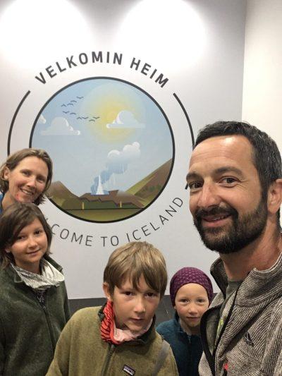 11 h de stopover en Islande