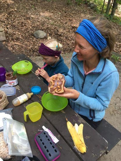 Les petits-déj doivent être énergétiques pour pédaler dans les Adirondacks