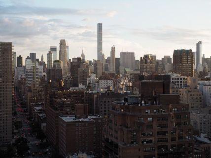 La vue depuis l'appartement de jour
