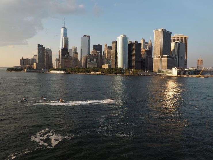 En fin de journée nous prendrons le ferry de Staten Island pour voir l'incontournable Skyline de Manhattan Downtown...