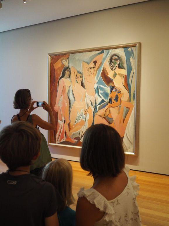 Pablo Picasso : les Demoiselles d'Avignon