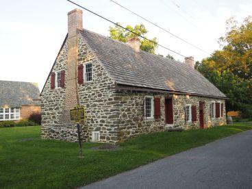 Maison hugenotte du début du 18ème