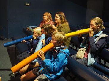 Notre cours de chant de baleines