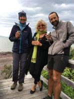 Super accueil de Lyne sur la rive du St Laurent