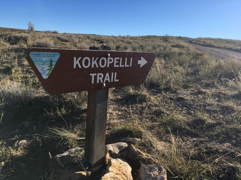 Direction le Kokopeli trail