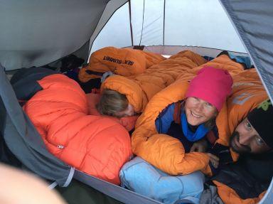 Mais nous ne planterons qu'une tente pour rester le plus discret possible!