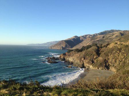 La côte de Big Sur est superbe