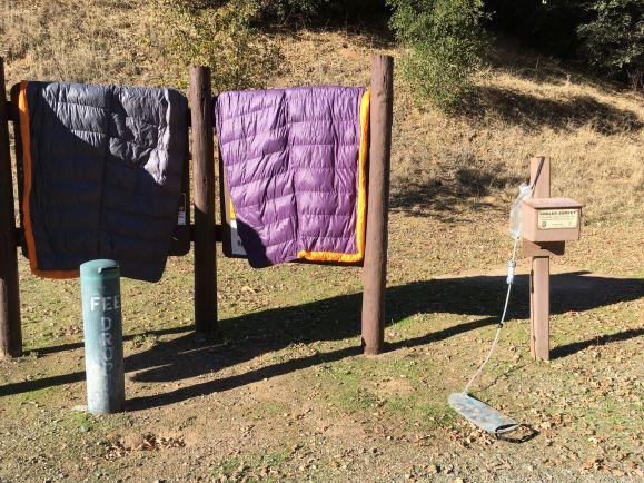 Séchage des duvets et filtrage de l'eau