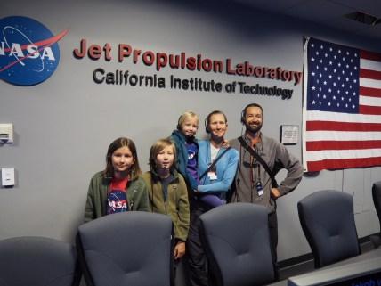Visite du JPL NASA