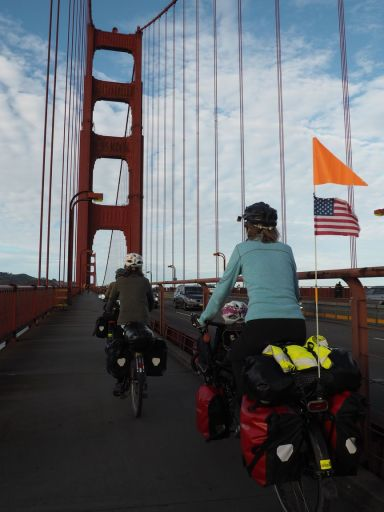 Sur le Golden Gate