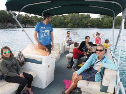Une super virée en bateau