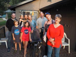 Pour Noël nous sommes accueillis chez Alice, Randii et leur famille