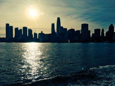Arrivée sur San Francisco par la baie