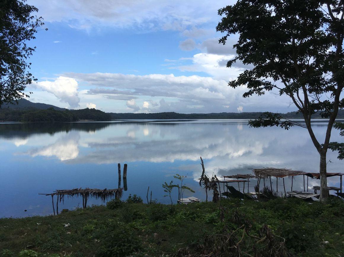 Les lagunes et les lacs sont superbes