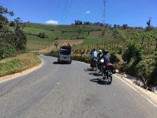 et nous reprenons la route vers Antigua