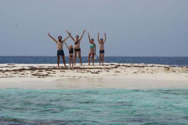 ça y est la famille Crusoé est sur son îlot !