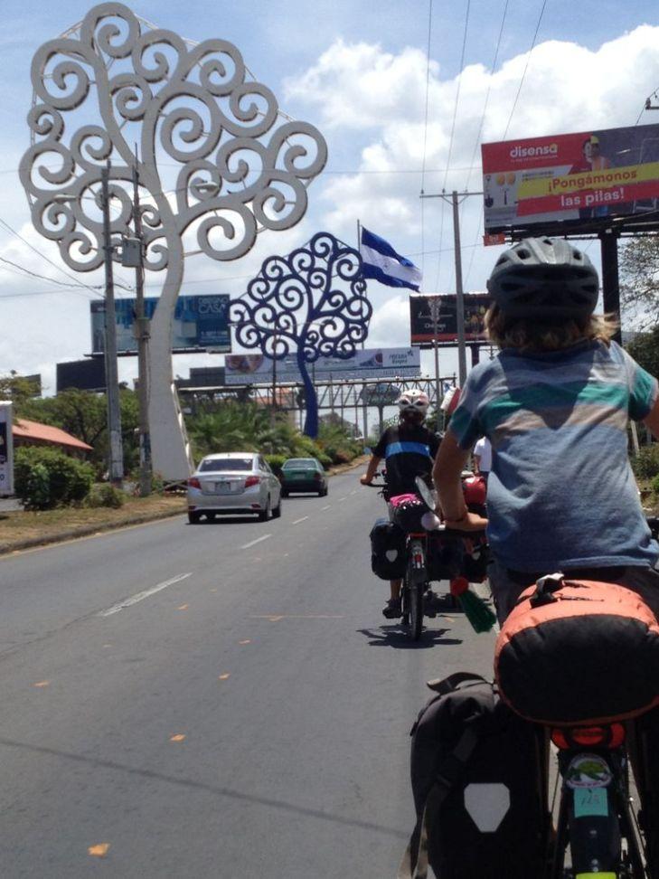 traversée de Managua sans grand intérêt