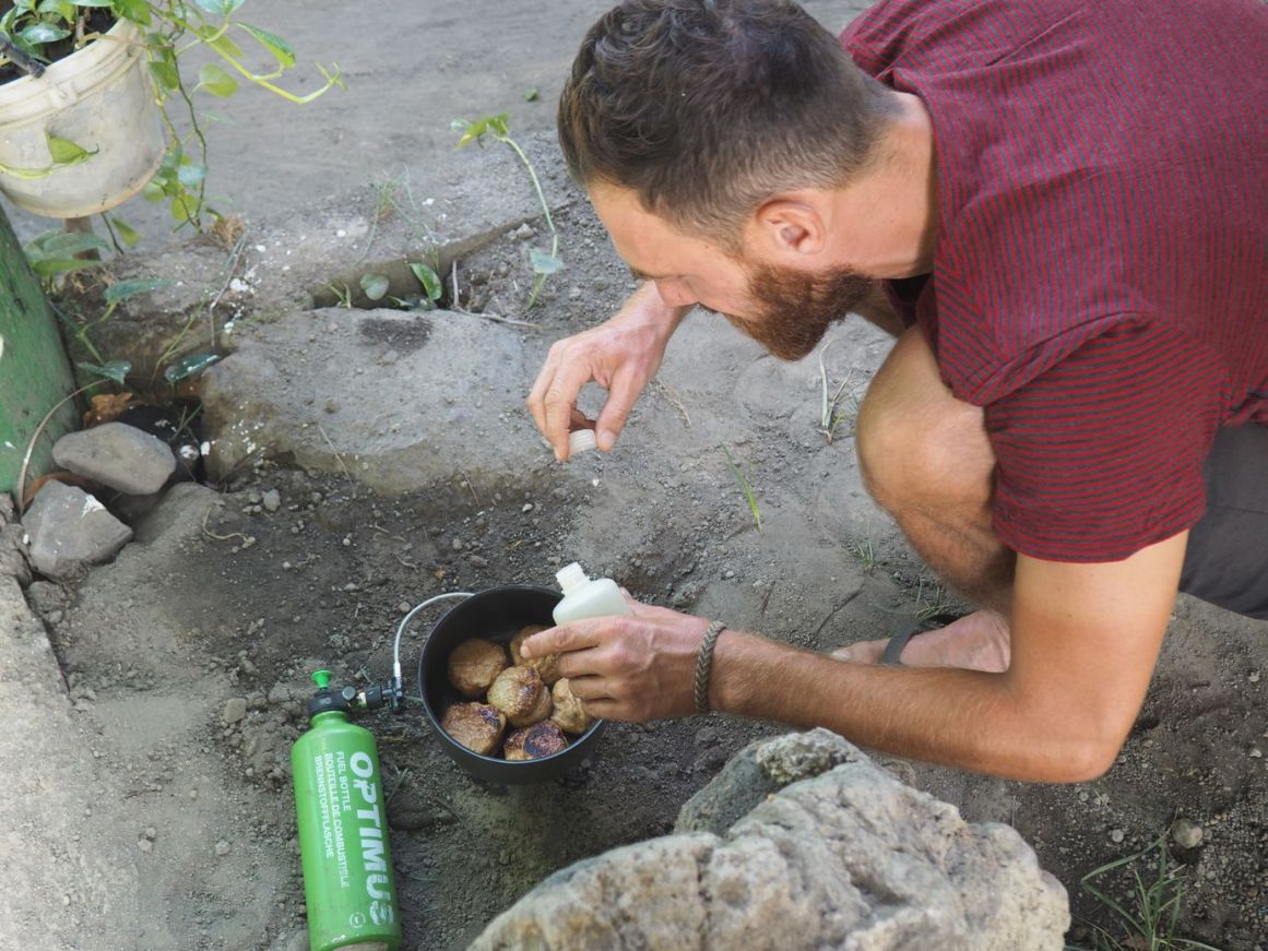 Manuel nous régale avec ses petits pains