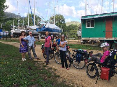 Dernier accueil au Panama avec Sylvie et son mari