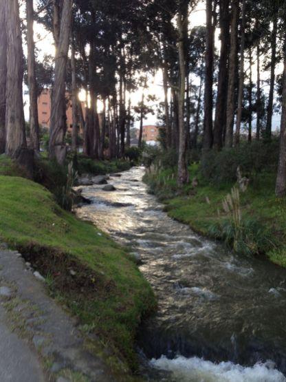 Rio Tomebamba de Cuenca