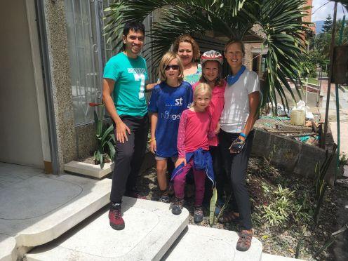 Merci Alejandro et Angela pour votre accueil