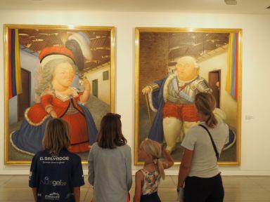 Visite du musée Antioquia