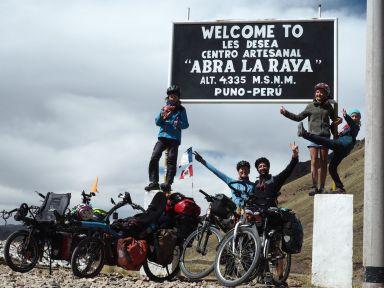 Col de la Raya 4334 m, heureux de cette belle ascencion