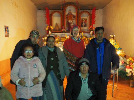 La plus péruvienne ne l'est pas !