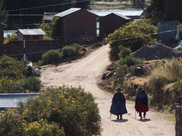 Dans les villages, nous croisons beaucoup de personnes agées. Où sont les jeunes ?