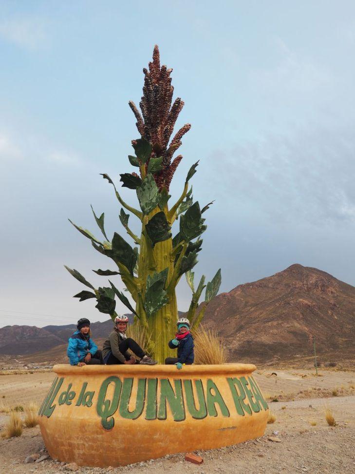 Une petite pause dans la capitale de la quinoa