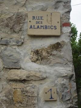rue des alambics