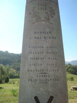 colonne monument aux Morts
