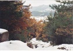 chemin du Col Maur 11.11.2003