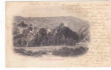 Beaumont-en-Diois vue générale