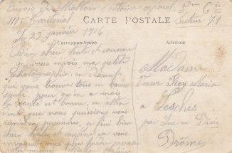 Correspondance Antoine Miallon 1916
