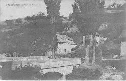 Beaurières Pont de Chauranne