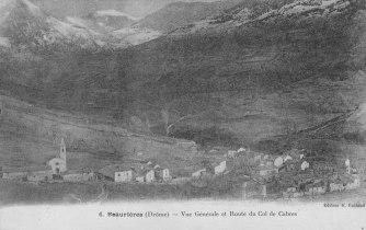 Beaurières Village et Col de Cabre