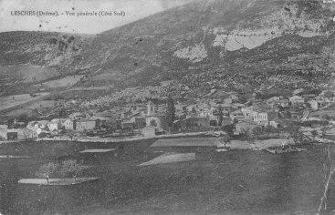 Lesches-en-Diois années 1910