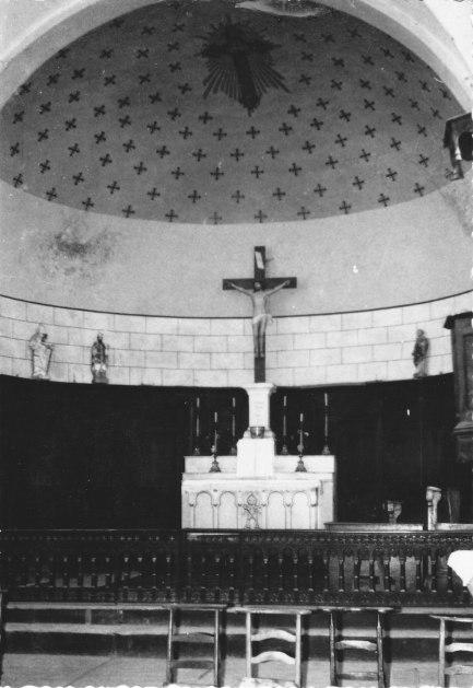 Lesches-en-Diois Intérieur église