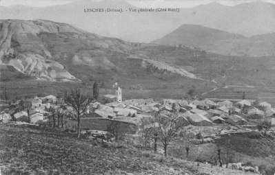 Lesches-en-Diois Chaitieu vers 1910