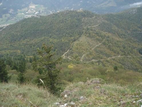 Ubac du Puy Miscon col Lorial Serre des aiguilles 10.2013