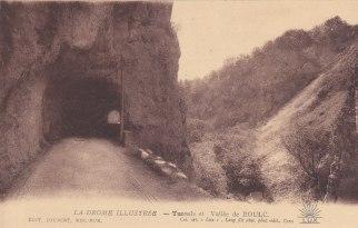 Vallée de Boulc Tunnel