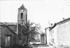 rue de l'église Lesches-en-Diois